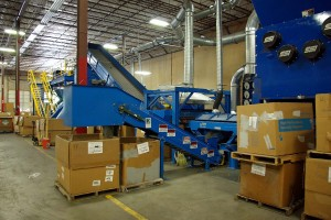 Electronic Waste Recycling Equipment