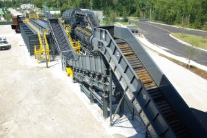 Stationary C&D Recycling Systems